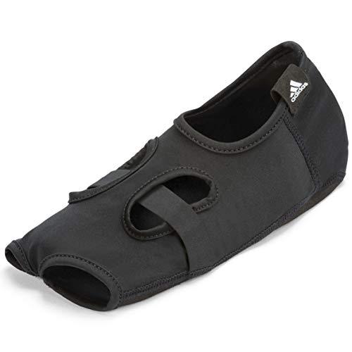 adidas Unisex– Erwachsene Yoga-Socken, Schwarz, S/M (23 cm)