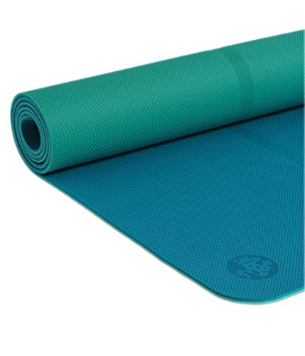 Manduka Welcome Yoga Mat – Premium 5mm Thick Yoga Mat with Alignment Stripe. Reversible, Lightweight with...