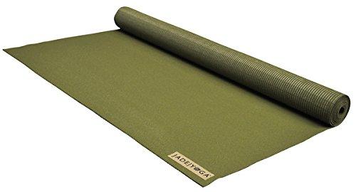 Jade Yoga Yogamatte für Reisen, Olivgrün, 0,6 x 172 cm, 1 Stück