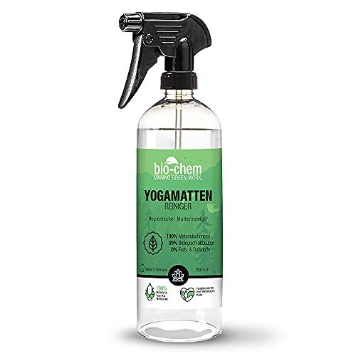 bio-chem Yogamatten-Reiniger - 750 ml - für Kunststoff- Kork und Textilmatten Sportmatten Bodenmatten