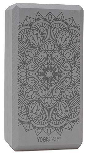 Yogistar Yogablock Yogiblock Basic Art Collection - Lotus Mandala - Graphite