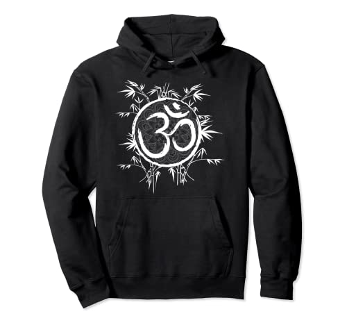 Cool Zen Yoga Buddhismus Bambus Yoga Mantra Pullover Hoodie