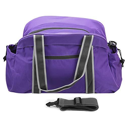 Sporttasche, verstellbare Schultergurte Faltbare Tasche, multifunktional für die Sporttasche Sporttasche(purple)