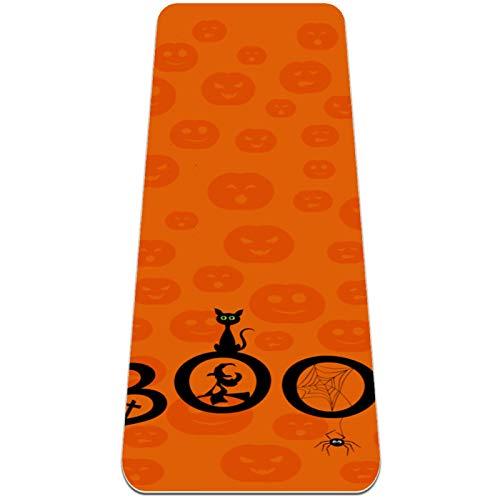 Pilatesmatte Gymnastikmatte,Yogamatte rutschfest aus TPE,Halloween-Bild. ,Übungsmatte Sportmatte für Yoga,Pilates,Fitness