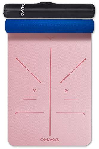 YAWHO Yogamatte hochwertige TPE ist rutschfest ECO Freundlichen Material Das SGS Zertifiziert Maße: 183 cm X...