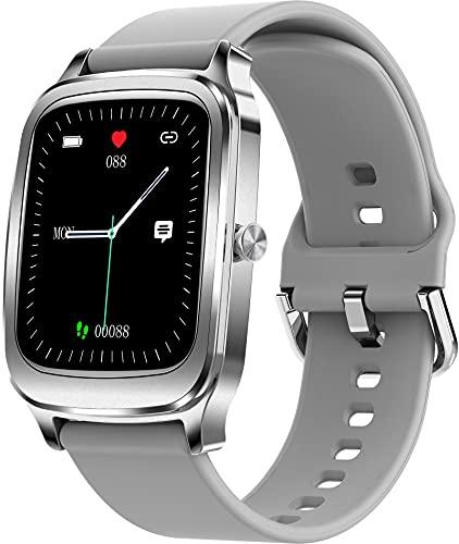 Smartwatch 1.65' voller Touchscreen Kompass Fitness Tracker Schlafmonitor Herzfrequenzmessung Aktivitätstracker Bluetooth Sport Schrittzähler Kalorien für Herren Damen