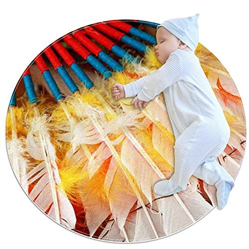 Kinderkreis-Teppich-Teppichdeckenmatten, die im Wohnzimmer des Familienschlafzimmers verwendet Werden, Feder