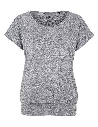 Venice Beach Damen Riamee Body Shirt T, Coal B Mel, XL