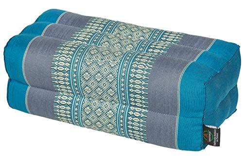 Handelsturm Kissen Block 35x15x10 mit Füllung aus Kapok. Perfekt für Meditation, Yoga und Entspannung...