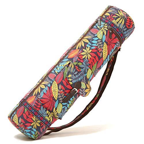 BAGTECH Tasche für Yogamatte Wasserdicht Tasche 70CM für Yogamatten aufwendig verarbeitet Yogatragetasche mit Mehreren Aufbewahrungstaschen