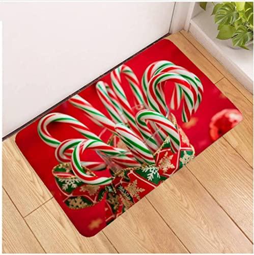 XIAIEWEI Frohe Weihnachten Weihnachtsbaum Geschenk Eingangsteppich Home Teppich Wohnzimmer Badezimmer Küche Fußmatten Anti Rutsch 120 * 160
