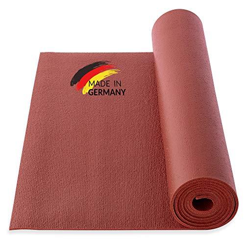 Yogibato Yogamatte Studio PVC Ökotex 100 – Made in Germany – rutschfest & Schadstofffrei – Matte für...