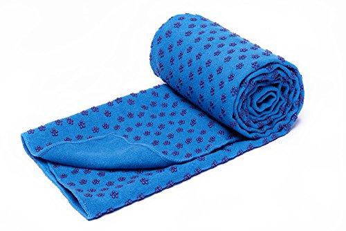voidbiov Quick Dry rutschfeste Yoga Handtücher (6 Farben) mit Mesh-Tragetasche, extra lang (62 x 183 cm/62 x...