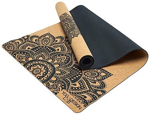 Yoga Design Lab | Die Kork Yogamatte | Umweltfreundlicher Luxus | Ideal für Hot Yoga, Power, Bikram,...