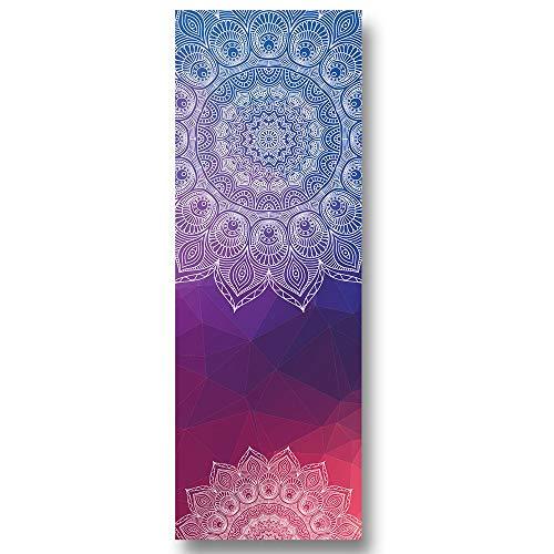 Naturra Dicke rutschfeste Yoga Hand Tücher, rutschfeste, Saugffhige und Hitze Besttndige Premium Yoga Tuch, Yoga Handtuch M017-3