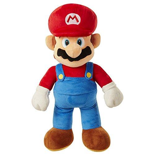 Nintendo SUPER MARIO 64456 Super Brothers Mario Jumbo Plüschfigur 50cm, Mehrfarbig