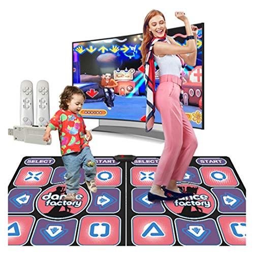 RKRXDH Wireless-Tanzen Teppich Family Game Jogging Yoga Fitness Teppiche for Wohnzimmer Unterhaltung Spiel Wireless Tanzmatte (Color : BM168 01)