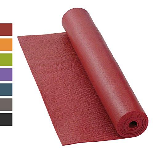 Yogamatte RISHIKESH PREMIUM 80 XL, rutschfest, groß & extra-stark, 4,5mm Studiomatte, Ökotex 100,...