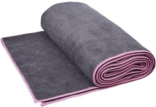 Amazon Basics - Yoga-Handtuch, Rosa