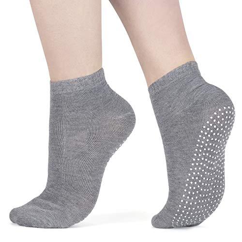 3X Packung Yoga Socken Pilates Ballet Socken - Martial Arts, Fitness, Zumba, Tanz - Anti-Rutsch - Full Toe...