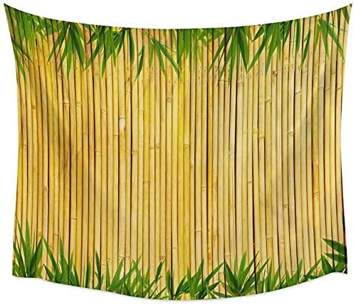 Tapisserie Wandbehang Bambus Vergilbung Wandteppich Abdeckung Strandtuch Picknick Yoga Matte Dekoration