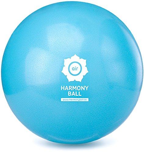 HARMONY BALL air Pilatesball & Gymnastikball ohne Phthalate | Verschiedene Größen | aquablau (Aquablau, 18 cm)