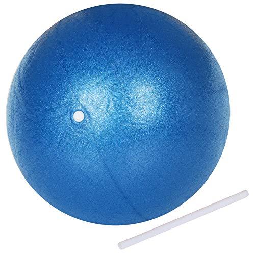 TRIXES blauer Pilates-Ball Übung Gymnastikball aus PVC-Schaum Yoga Workout Gym Übung
