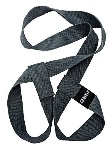 Q324 Tragegurte für Fitness- und Yogamatten - verstellbar und komfortabel - Baumwoll Trageriemen ideal für Pilates, Yoga, Fitness und Gymnastik