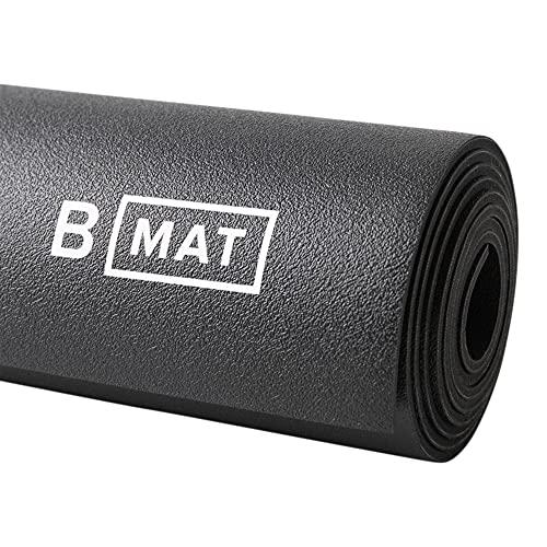 B YOGA Yogamatte Everyday [4mm Dicke] - Oeko-TEX® Zertifiziert & Schadstoffgeprüft - Profi Sport- und Fitnessmatte aus Naturkautschuk für Yoga, Pilates, Sport und Training…