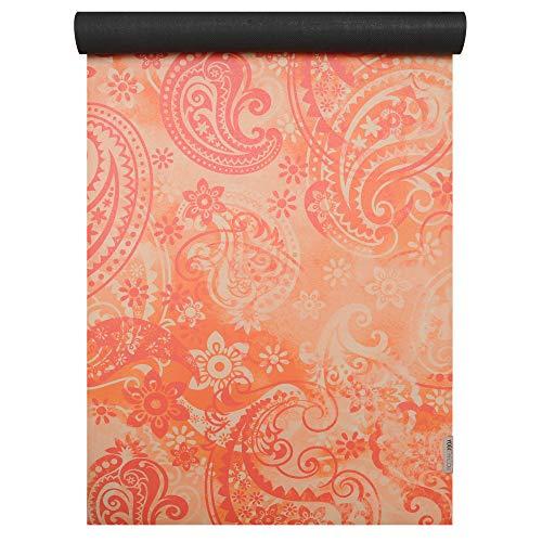 Yogistar Yogamatte Travel - Art Collection Paisley orange-red