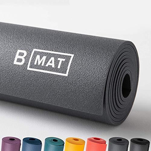 B Yoga Everyday B-Matte, 4 mm, 100 % Gummi, hohe Leistung, rutschfest, OEKOTEX-zertifiziert – für Yoga,...