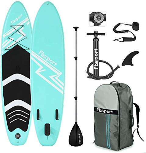 FBSPORT SUP Board,Stand Up Paddle Board,Aufblasbare Boards für Stand-Up Paddling 15CM Dick,Premium SUP...
