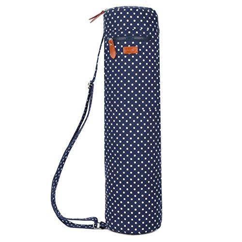 Baosha YG-28 Yoga Mat Bag Segeltuch Yogatasche Durchgehende Reißverschluss Tragetasche für Yoga, Pilates,...