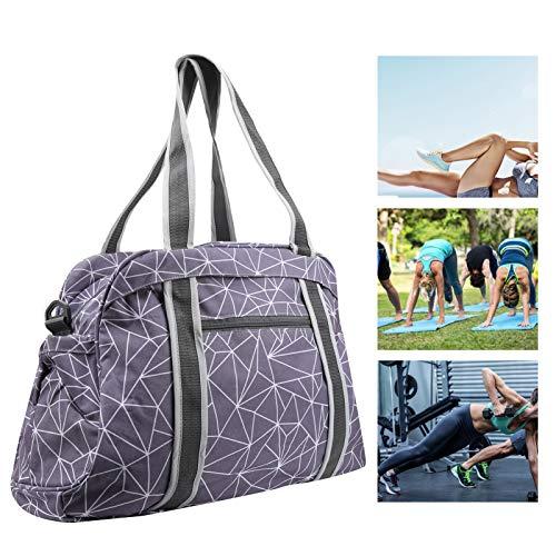 Sporttasche, verstellbare Schultergurte Faltbare Tasche, multifunktional für die Sporttasche Sporttasche(Pattern)