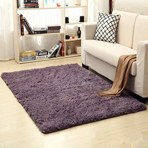 LOSPVEHF Wohnzimmer Teppich Flauschige Matte Kinderzimmer Teppich Schlafzimmer Decke rutschfeste weiche Kunstpelz Bereich Teppich Schlafzimmer Yoga Teppich hohe Qualität