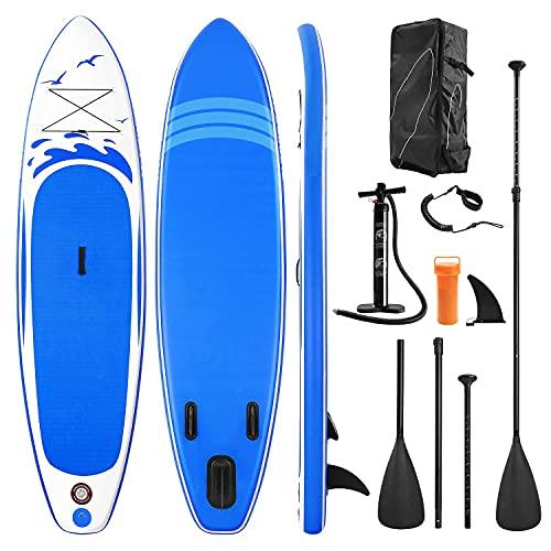 Stand Up Paddling Board Aufblasbares Paddle Board SUP Paddle Board Zubehör Rucksack Paddle Line Pumpe...