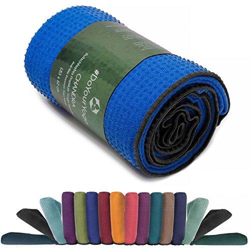 Rutschfestes Yogahandtuch mit Silikon-Dots (Noppen) »Chandra« Anti-Slip Oberfläche Premium Yoga Towel BZW....