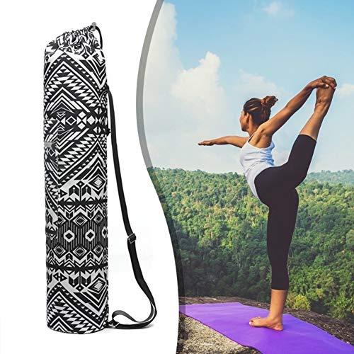 zhppac Yogatasche Für Matte Yoga Mat Bag Yogamattentasche groß Yoga Mat Taschen und Träger Yogamatte und Tasche Yoga Mat Cover Bag Yoga-Taschen für Frauen bg180005,-