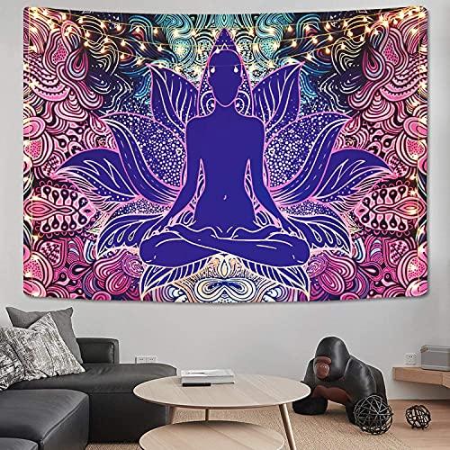 Psychedelische Yoga Mandala Chakra Tapisserie Wandmontierte Hexerei Böhmische Sonnenblume Wandteppich Decke A1 180x200cm