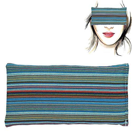 Augenkissen 'Granada' | Lavendel Samen und Reis | Yoga, Meditation, Entspannung, für Ihre Augen ..