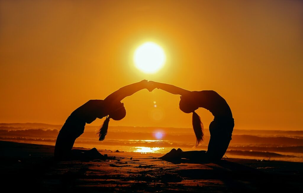 Partner Yoga Übungen