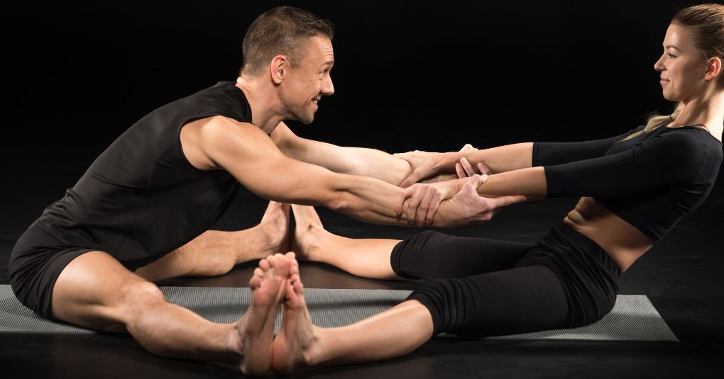 Yoga zu zweit