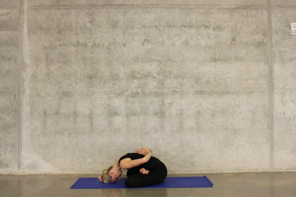 Restorative Yoga Übung
