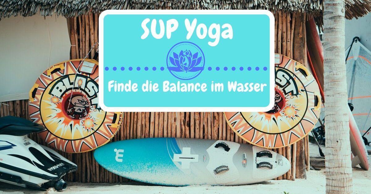 SUP Yoga-Balance