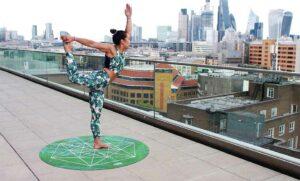 Tänzer Yoga
