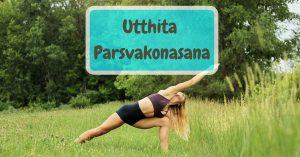 Utthita Parsvakonasana