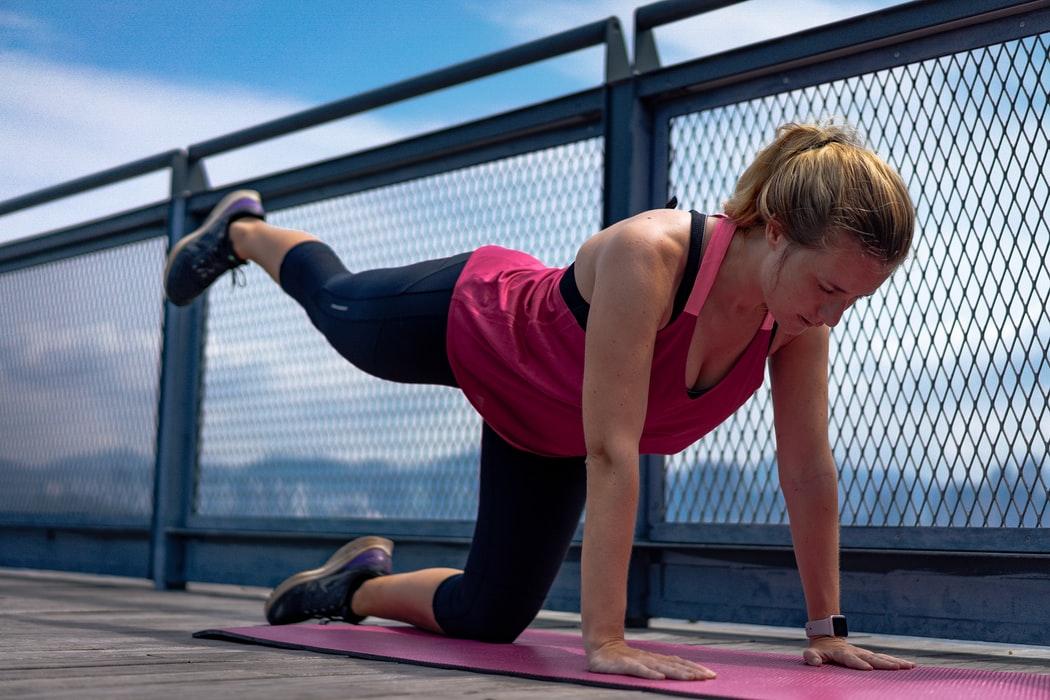 Yoga Katze (Marjaryasana Erweitert)