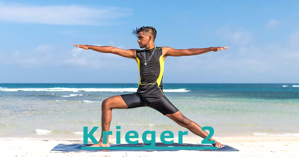 Yoga Krieger 2 Uebung