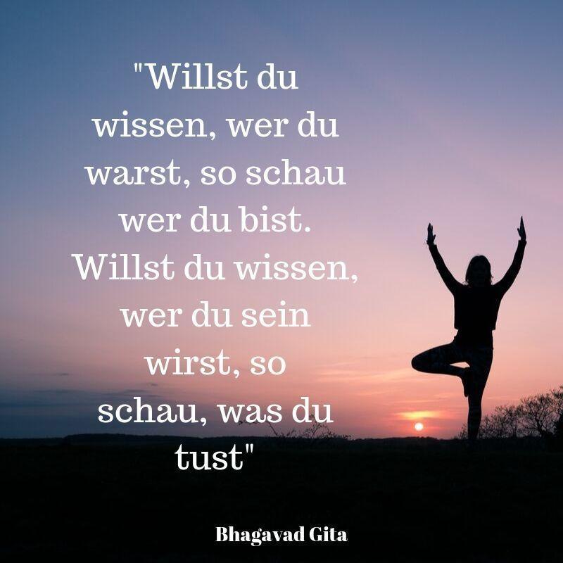 Yoga Zitat wer bin ich