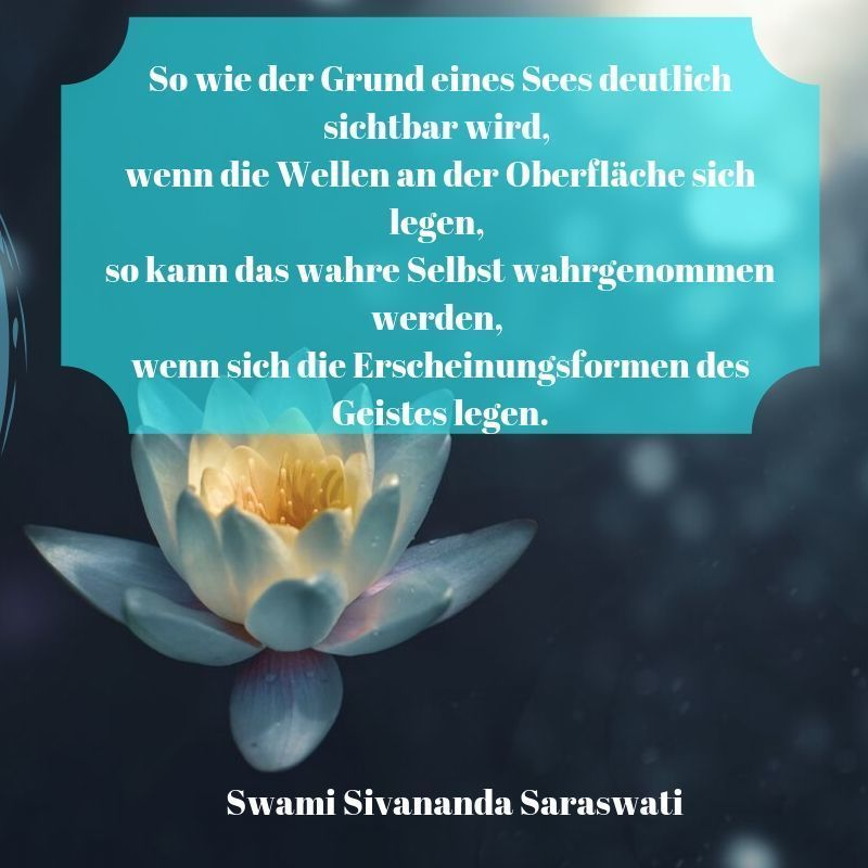 Yoga Zitat Swami Sivananda